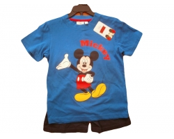 Set Mickey Mouse tricou si pantaloni, baieti 6 ani
